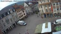 Archiv Foto Webcam Blick auf den Marktplatz Ettlingen 02:00