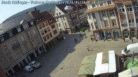 Archiv Foto Webcam Blick auf den Marktplatz Ettlingen 04:00