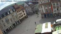 Archiv Foto Webcam Blick auf den Marktplatz Ettlingen 08:00