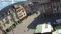 Archiv Foto Webcam Blick auf den Marktplatz Ettlingen 10:00