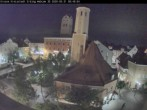 Archived image Webcam City center of Erding and the local city tower 18:00