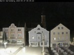 Archived image Webcam Market place of Wartenberg near the city of Erding 18:00