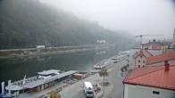 Archiv Foto Webcam Passau Altstadt - Donaublick am Hotel König 02:00