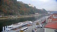 Archiv Foto Webcam Passau Altstadt - Donaublick am Hotel König 10:00