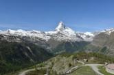 Archiv Foto Webcam Zermatt - Sunnega 04:00