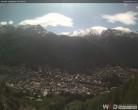 Archiv Foto Webcam Friedhof Zermatt 09:00