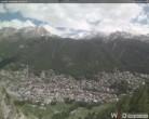 Archiv Foto Webcam Friedhof Zermatt 13:00