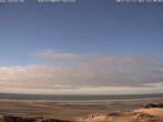Archiv Foto Webcam Amrum: Strand am Dorf Nebel 10:00