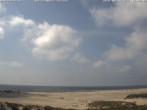 Archiv Foto Webcam Amrum: Strand am Dorf Nebel 13:00