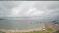 Archiv Foto Webcam Amrum: Wittdün - Hafen 10:00