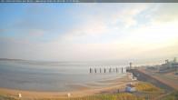 Archiv Foto Webcam Amrum: Wittdün - Hafen 06:00