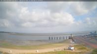 Archiv Foto Webcam Amrum: Wittdün - Hafen 09:00