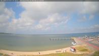 Archiv Foto Webcam Amrum: Wittdün - Hafen 13:00