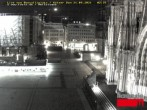 Archived image Webcam Cologne: Place Roncalli 20:00