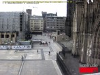 Archived image Webcam Cologne: Place Roncalli 08:00