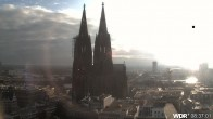 Archived image Webcam Cologne Cathedral 02:00