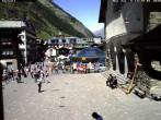 Archiv Foto Webcam Gemeindehaus Zermatt 08:00