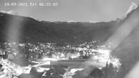Archiv Foto Webcam Zermatt: Blick auf das Dorf 00:00