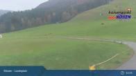 Archived image Webcam Kössen Kids' Area 09:00