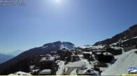 Archived image Webcam Riederalp - Village 10:00