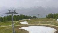 Archived image Webcam Veysonnaz: Mayens de l'Ours - Top Station 12:00