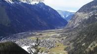 Archived image Webcam Umhausen in Ötztal valley 08:00
