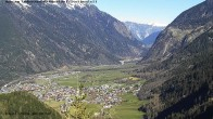 Archived image Webcam Umhausen in Ötztal valley 04:00