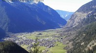 Archived image Webcam Umhausen in Ötztal valley 10:00