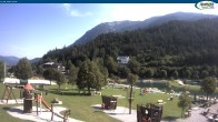 Archiv Foto Webcam Achensee - Badestrand in Achenkirch 04:00