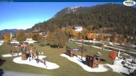 Archived image Webcam Lake Achensee - beach in Achenkirch 08:00