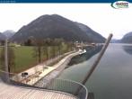 Archiv Foto Webcam Pertisau am Achensee, Hochsteg 08:00