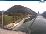 Archiv Foto Webcam Pertisau am Achensee, Hochsteg 10:00