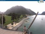 Archiv Foto Webcam Pertisau am Achensee, Hochsteg 12:00