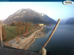 Archiv Foto Webcam Pertisau am Achensee, Hochsteg 07:00
