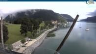 Archiv Foto Webcam Pertisau am Achensee, Hochsteg 02:00