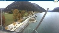 Archived image Webcam Pertisau at Achensee, footbridge 04:00
