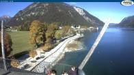 Archived image Webcam Pertisau at Achensee, footbridge 06:00