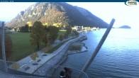 Archived image Webcam Pertisau at Achensee, footbridge 10:00