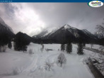 Archiv Foto Webcam Pertisau am Achensee - Karwendeltal 11:00