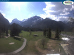 Archiv Foto Webcam Pertisau am Achensee - Karwendeltal 14:00