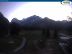 Archiv Foto Webcam Pertisau am Achensee - Karwendeltal 18:00