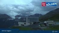 Archived image Webcam Giggijoch Top Station 21:00
