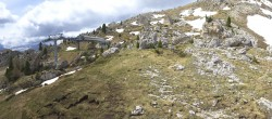 Archiv Foto Webcam Bergstation Citta dei Sassi, Val Gardena 04:00