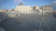 Archived image Webcam St. Peter's Square - Piazza San Pietro in the Vatican City 02:00