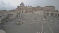 Archived image Webcam St. Peter's Square - Piazza San Pietro in the Vatican City 04:00
