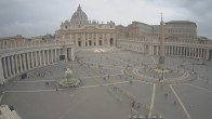 Archived image Webcam St. Peter's Square - Piazza San Pietro in the Vatican City 06:00