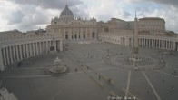 Archived image Webcam St. Peter's Square - Piazza San Pietro in the Vatican City 10:00