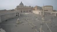 Archiv Foto Webcam Petersplatz und Petersdom, Vatikanstadt - Piazza San Pietro 14:00