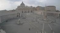 Archiv Foto Webcam Petersplatz und Petersdom, Vatikanstadt - Piazza San Pietro 16:00