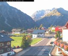 Archiv Foto Webcam Mittelberg - Hotel Alpenrose 02:00